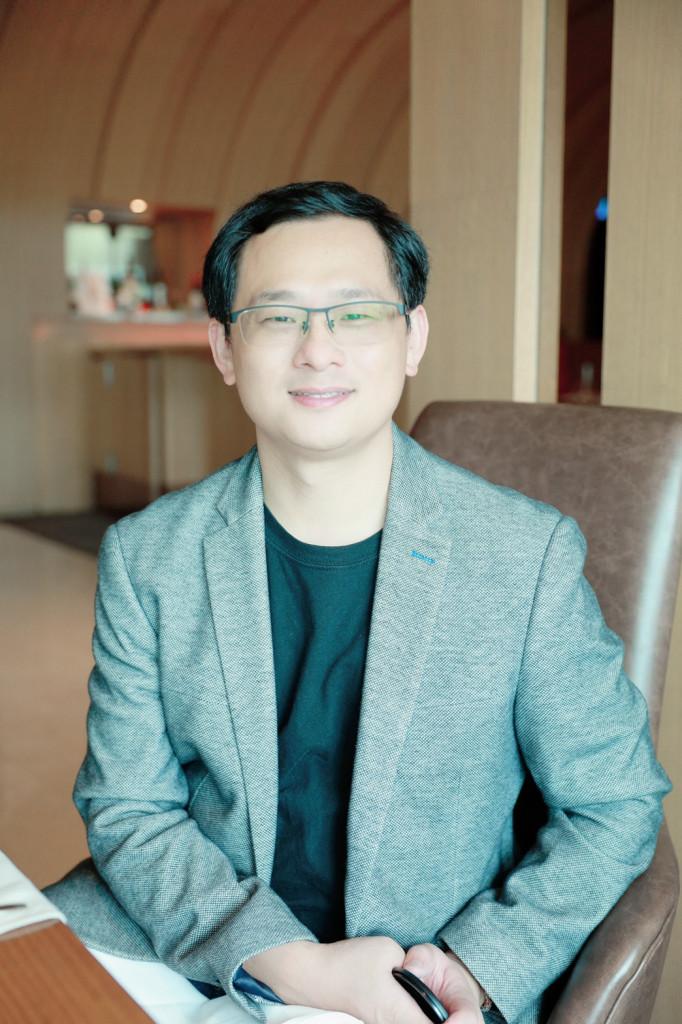 臥龍智慧環境公司創辦人兼總經理謝文彬
